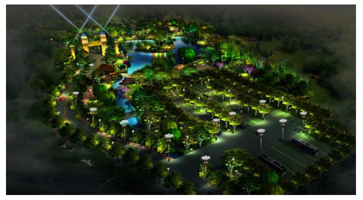 zigbee核心板在智能景观灯中的应用