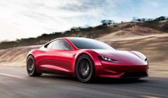 特斯拉发布全新电动跑车Roadster