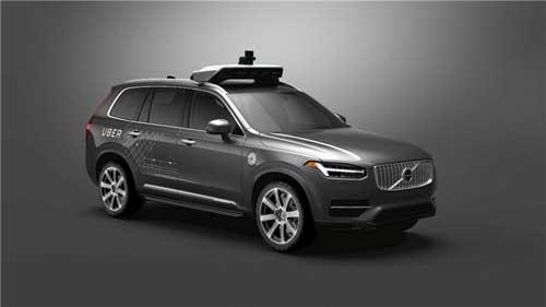 沃尔沃与优步合作研发自动驾驶技术