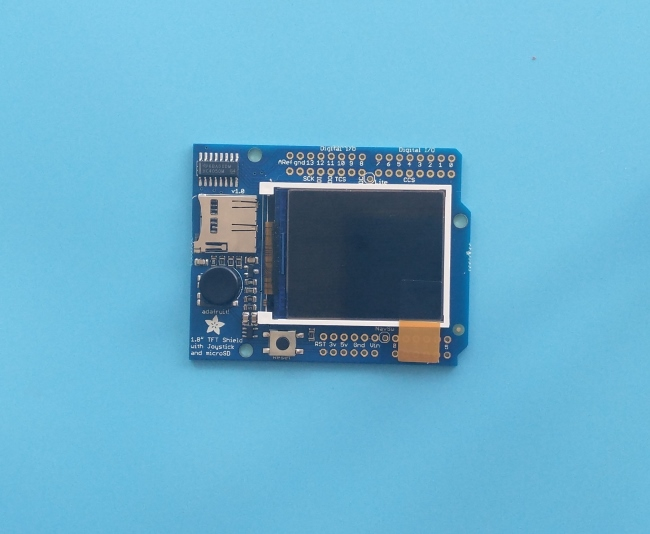 NUCLEO伴侣之Adafruit 1.8 TFT Shield