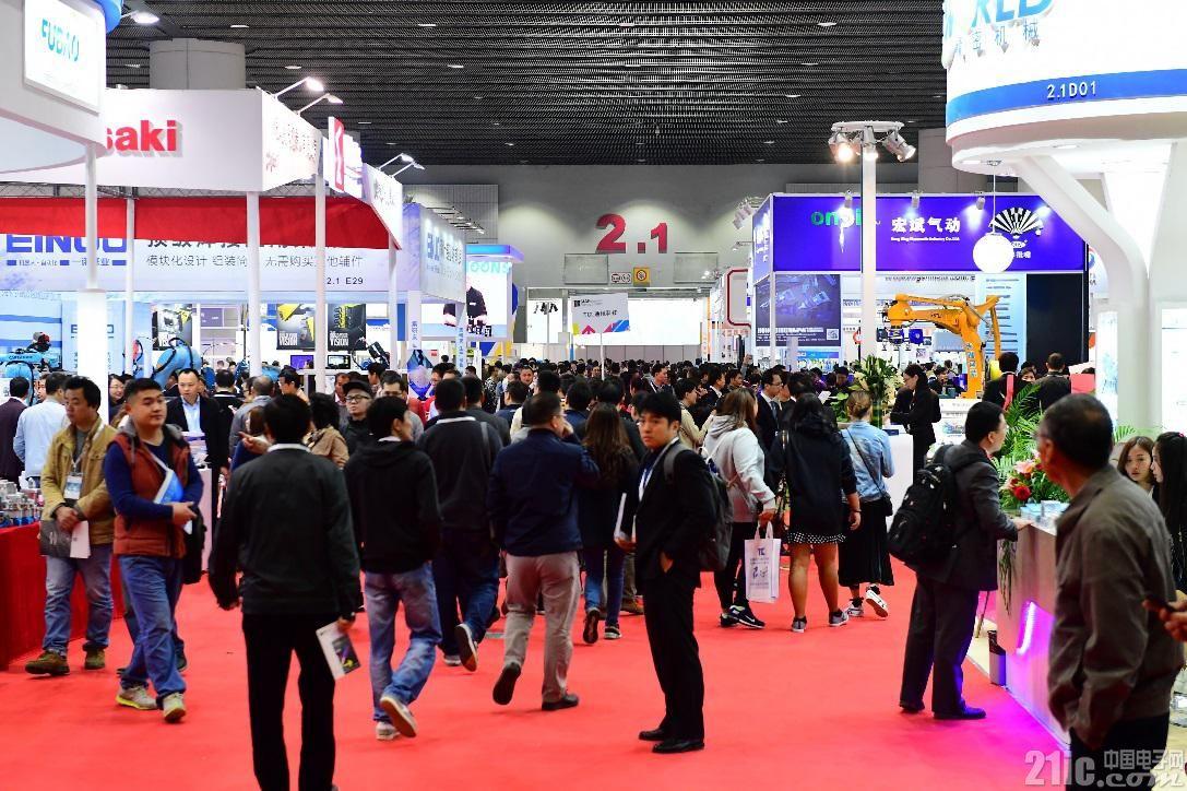 SIAF 广州工业自动化展销情炽热,机器人及机器视觉专馆率先全场爆满