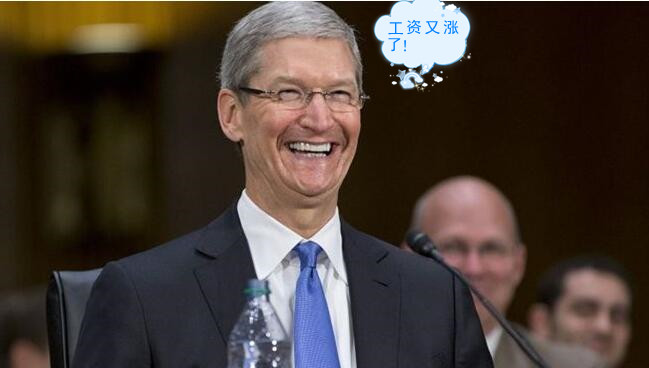 苹果今年卖了2.17亿部iPhone,库克薪酬1283万美元大涨45%