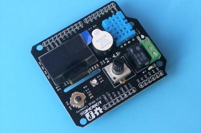 Arduino太low?有了这块扩展板也许就不同了——DF