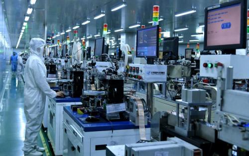 制造业向产业价值链中高端迈进