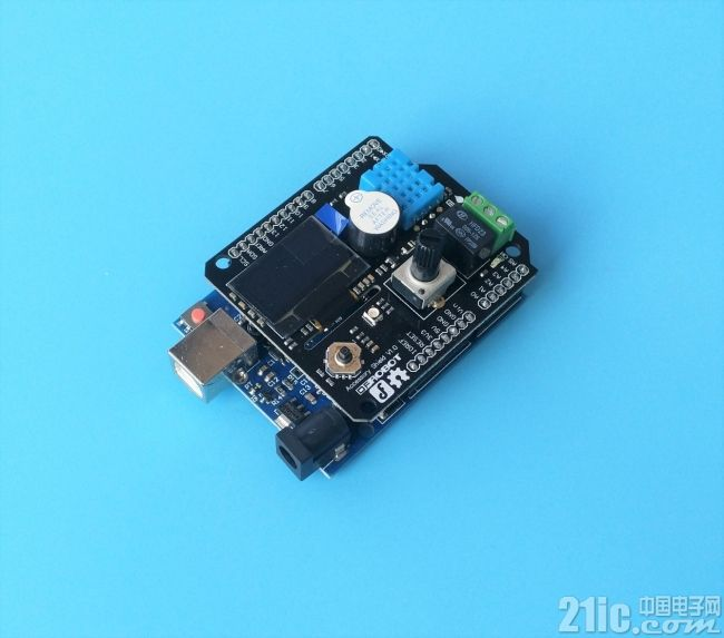 Arduino太low?有了这块扩展板也许就不同了――DFRobot Accessory Shield评测