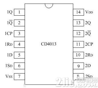 cd4013无稳态工作方式及无稳态电路应用