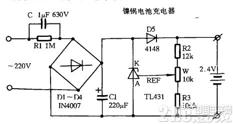 TL431,充电器电路