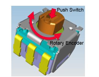 村田超小尺寸的编码器开关micro ES 即将量产