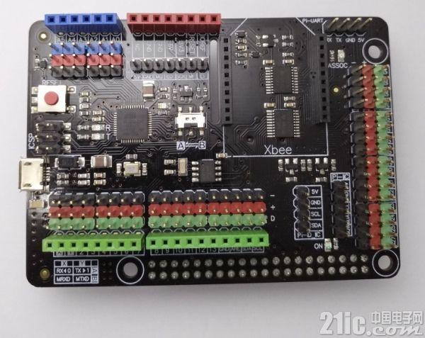 Raspberry PI和Arduino合体――Arduino树莓派扩展板评测