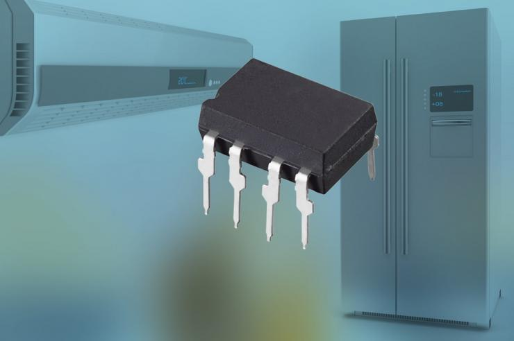 Vishay新款集成功率光敏可控硅性能达到600V/μs dv/dt,且可降低成本并节省空间