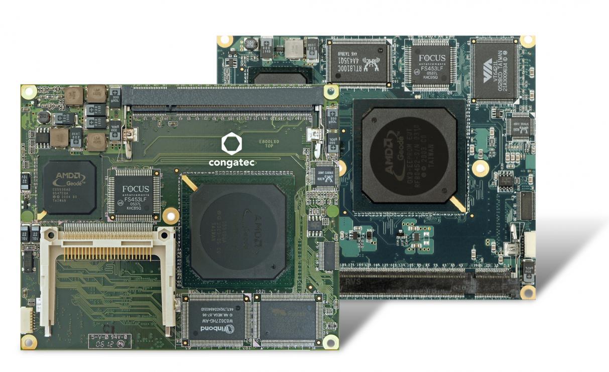 康佳特与AMD携手提供AMD Geode处理器长期供货支持
