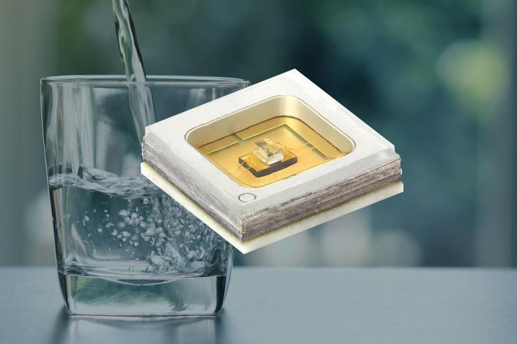 Vishay新款UVC发光二极管采用陶瓷/石英 基材,具有超长使用寿命