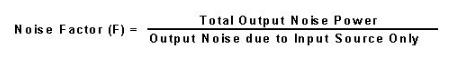 噪声系数测量的三种方法