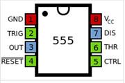 四款555定�r器�a生方波的�路