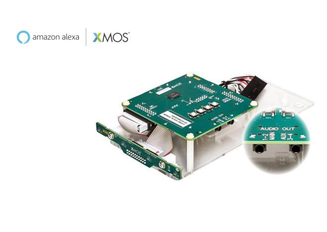 XMOS又一世界第一:获亚马逊认证的、面向AVS的立体声AEC远场线性开发套件