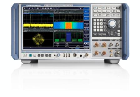 罗德与施瓦茨公司基于FSW信号与频谱分析仪率先发布5G新空口分析固件
