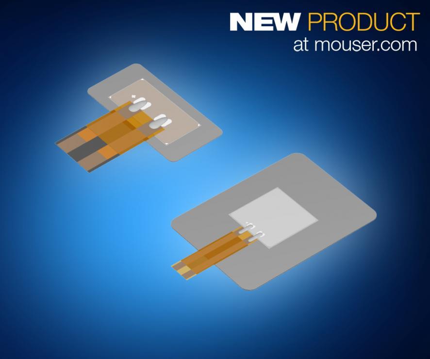 TDK PiezoHapt超薄执行器在贸泽开售  为可穿戴设备和其他设备提供快速触觉反馈