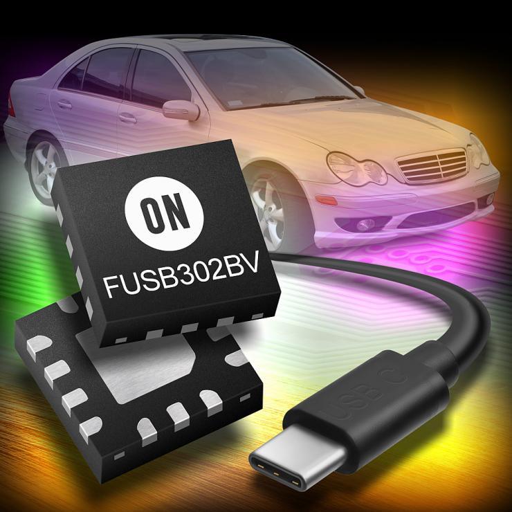 安森美半导体推出全新低能耗USB-C系列产品, 完全符合1.3规格