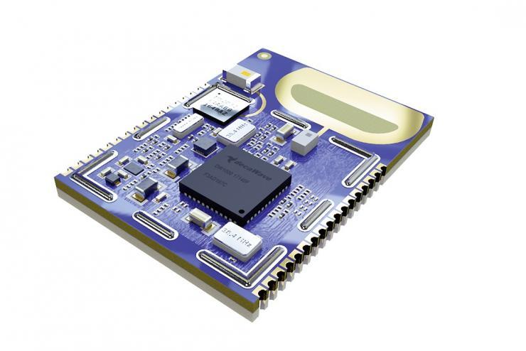 超宽带/低功耗蓝牙模块支持可包含数千个标签且 开箱即用的高级实时定位应用