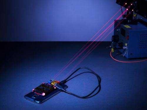 激光充电这就要代替无线充电?