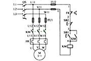 电机自锁控制电路图