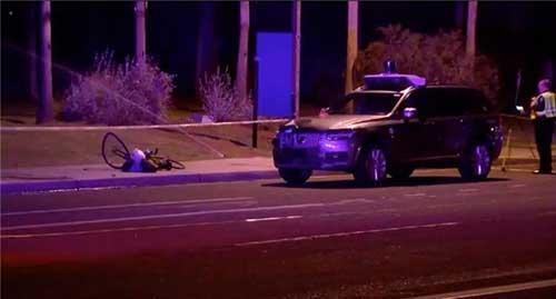 Uber自动驾驶车辆致行人死亡