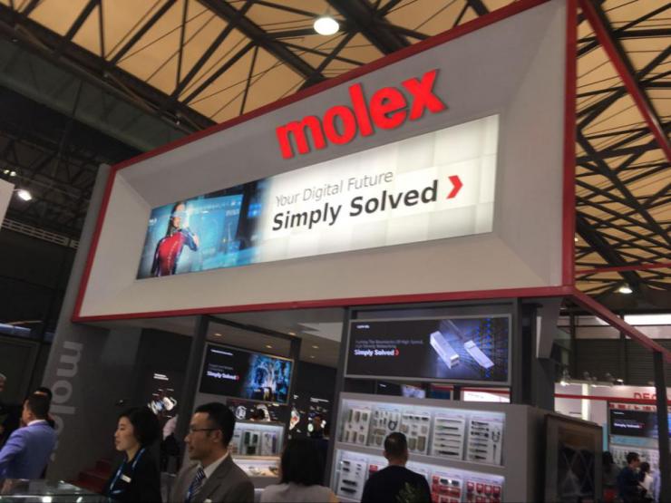 慕尼黑上海电子展,Molex跟我们聊了聊汽车电子连接器