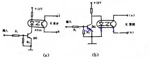光电耦合器电路图