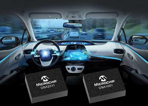 Microchip新型汽车级MEMS振荡器问世
