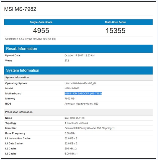Intel 弥天大谎彻底戳破!八代酷睿完美移植100/200系主板
