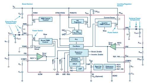 防止开关转换器输出浪涌引发的启动问题