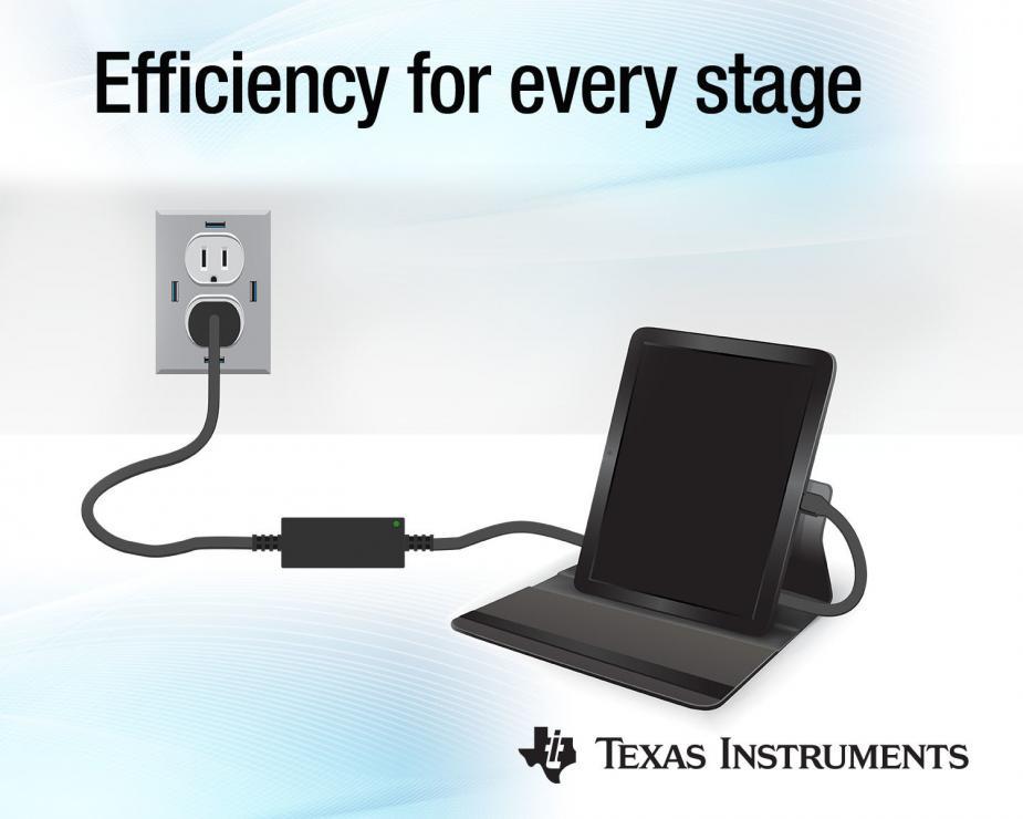 TI推出新款1MHz有源钳位反激式芯片组和业界首款6A三级降压电池充电器,可将电源尺寸和充电时间减少一半