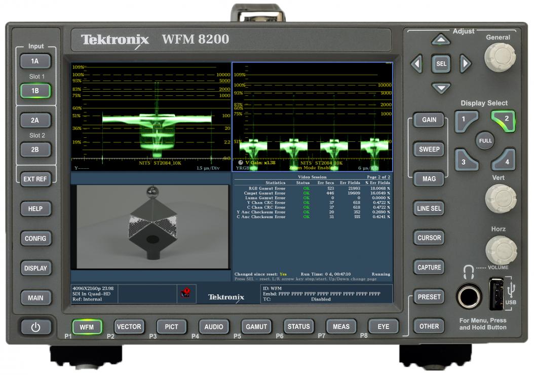 泰克扩展4K/HDR/WCG支持,简化直播和后期制作工作