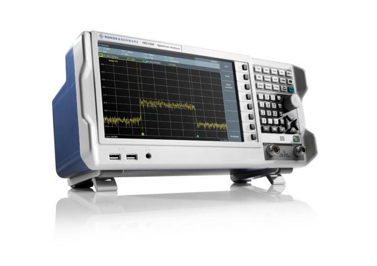 罗德与施瓦茨公司发布最新的入门级三合一射频测试仪器――R&S FPC1500频谱分析仪