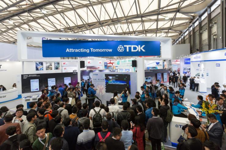 从机器人、能源到物联网,TDK惊艳慕尼黑上海电子展
