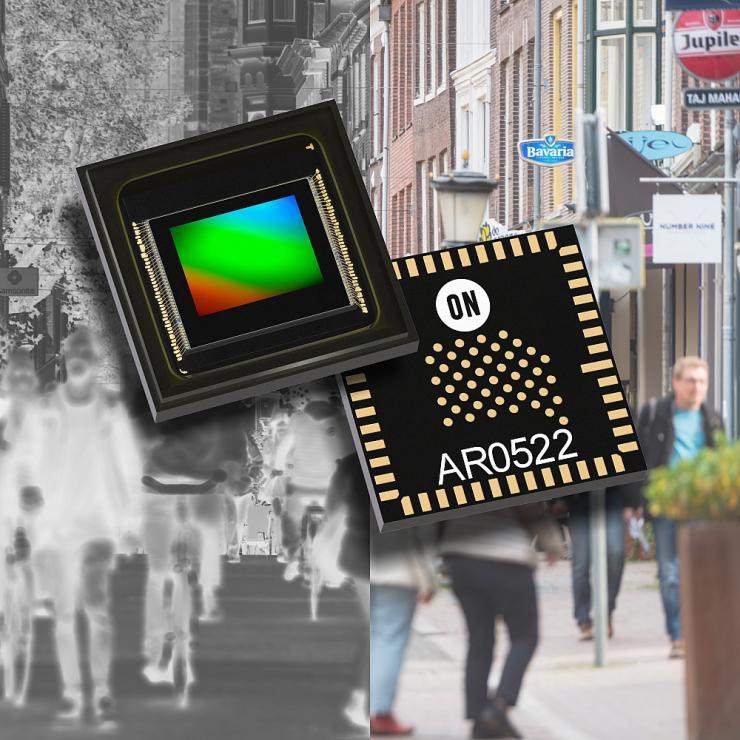 安森美半导体推出首批具有近红外+(NIR +)的高分辨率 图像传感器,以提升夜视功能