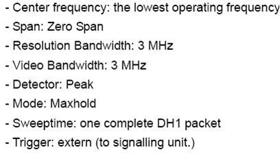 蓝牙EDR射频测试(六)