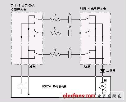 电容器的漏泄测量系统
