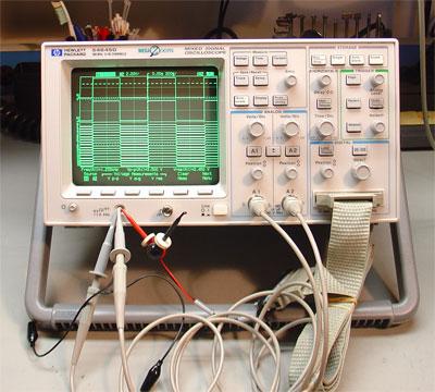 谁发明了第一台混合信号示波器?