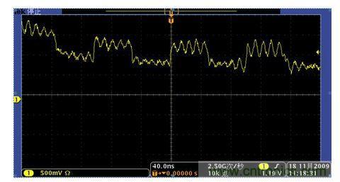如何解决示波器测量时电源干扰问题