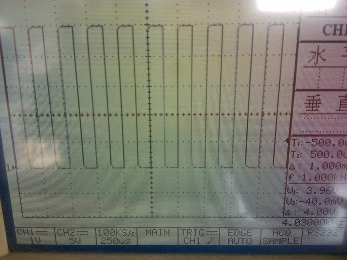 关于PWM和精确延时输出的方波