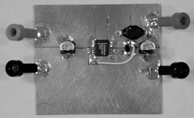 用表面贴装器件进行原理性测试