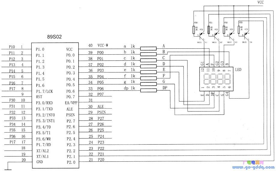 基于MCS-51系列单片机测量频率的设计与实现