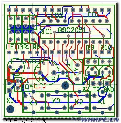 多功能AT89C2051倒计时器电路设计与制作