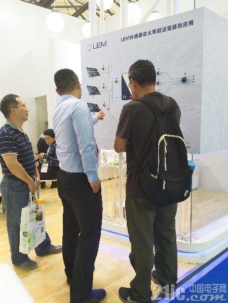 莱姆工程师现场给客户讲解莱姆产品的性能、应用和优势