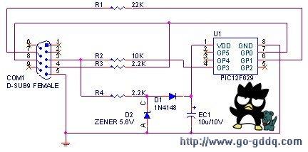PIC单片机12F629烧录器电路设计与制作