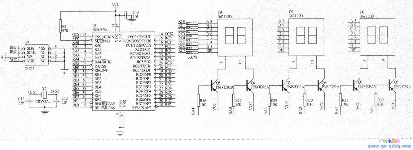 PIC单片机读/写AT24C系列存储器原理