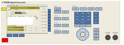 CMMB信号发生器性能测试原理