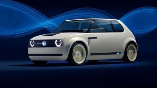 时尚萌萌哒的本田概念车,这款科技了解一下?