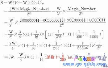Cortex--M0单片机二-十进制整数转换的快速算法